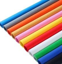 Falsos Tecidos de alta qualidade Multicolor tela de seleção do fundo pano de Musselina pano de fundo Para estúdio de Fotografia iluminação 3 m de largura