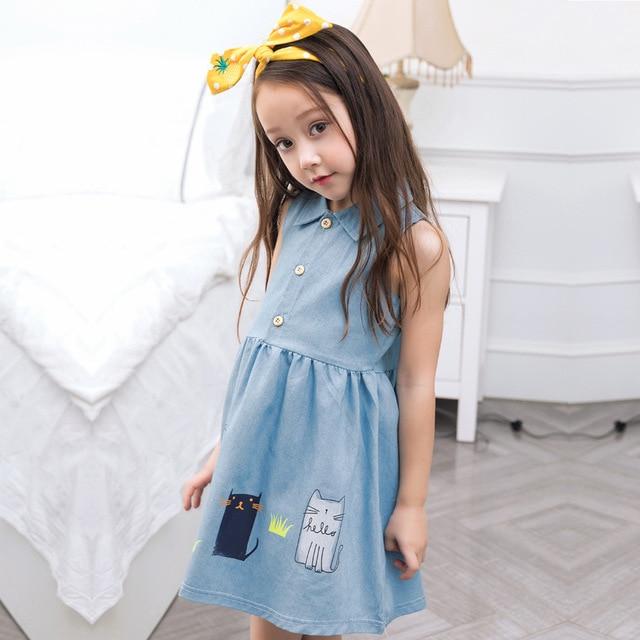 Girls party dresses nova kids jeans clothes fashion 2018 ...