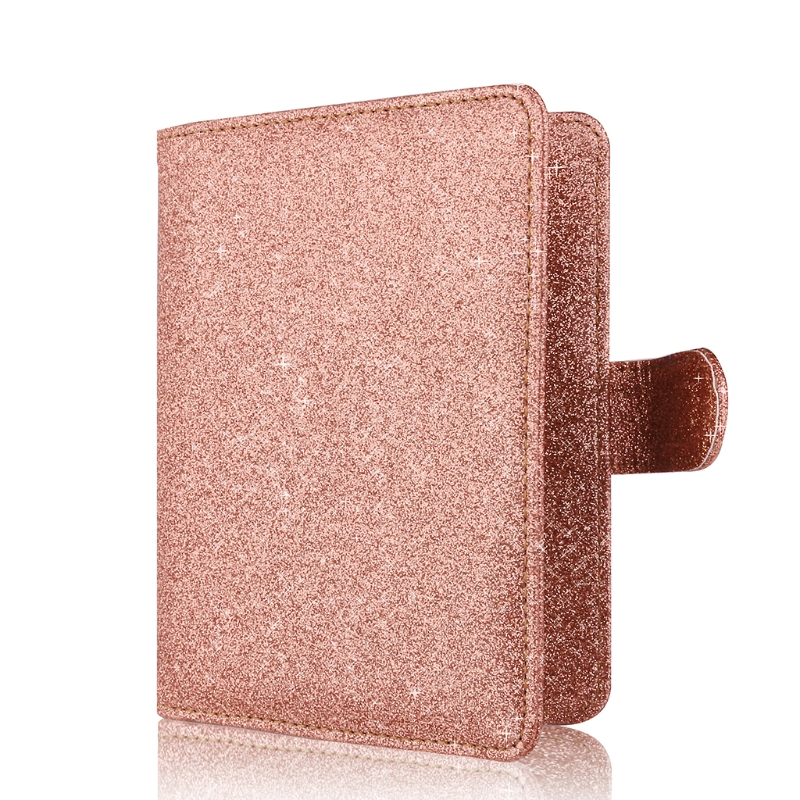 New Hasp Shiny Passport Holder Wallet RFID Blocking Case for Passport Travel Cover Case New Hasp Shiny Passport Holder Wallet RFID Blocking Case for Passport Travel Cover Case
