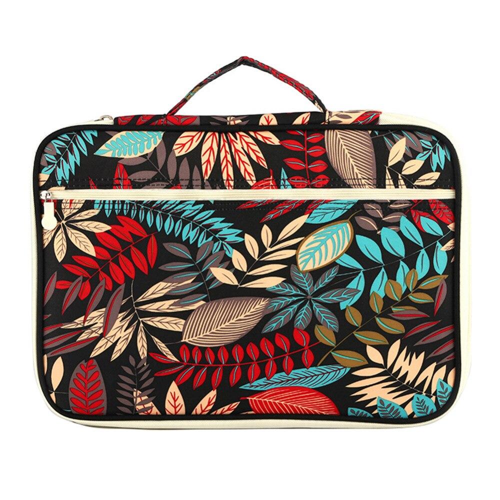 Women's Document Bag File Folder Passport Holder Laptop Handbag Business Briefcase Notebook Organizer Office Travel Accessories