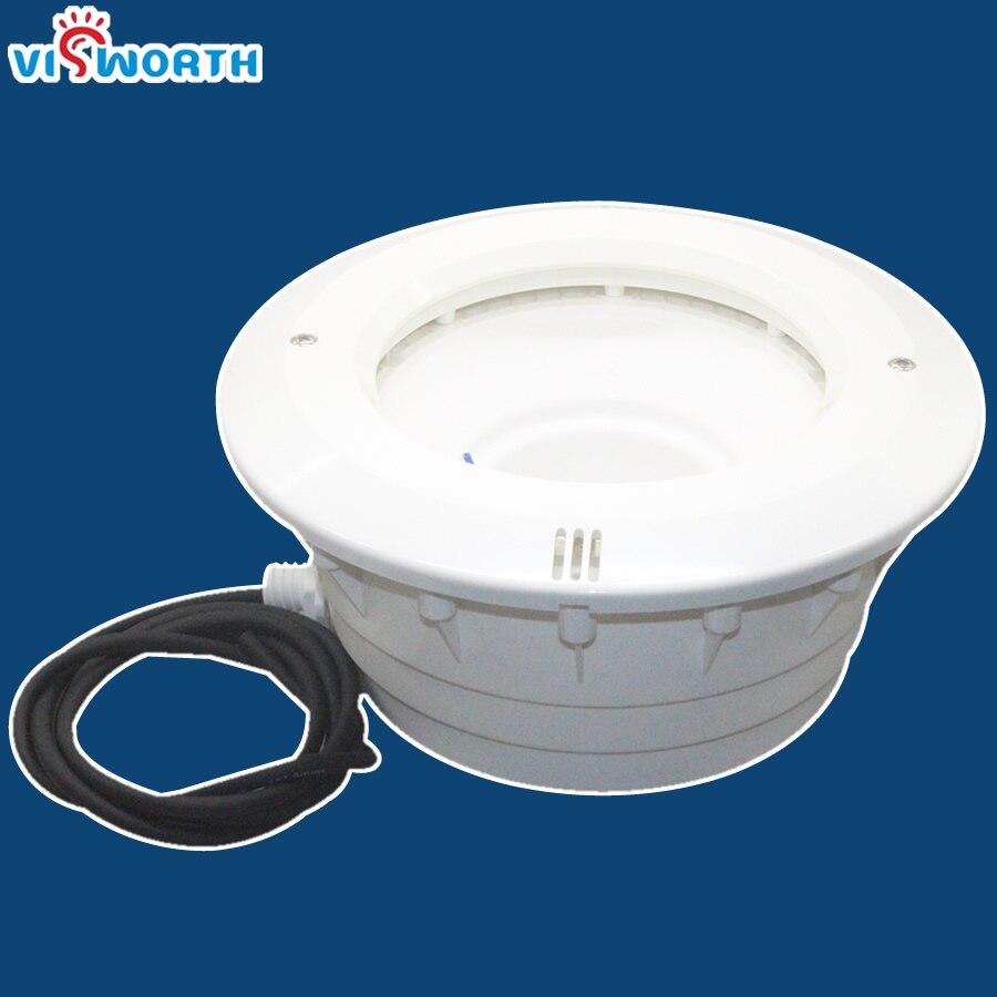 Par56 Бассейн Светодиодный Свет Плавательный Водонепроницаемый PC Материал для лайнера бассейн бетонный бассейн лампы нишу с 1.8 м провода