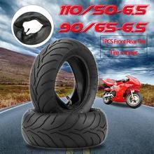 Лидер продаж, спереди и сзади шины+ внутренняя труба 90/65/6,5 110/50/6,5 для 47cc 49cc мини карманный велосипед JLD