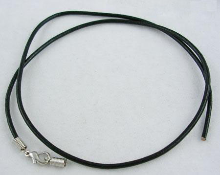 "100pcs1.5mm in diameter, 18"" Imitation Leather Necklace Cord for Jewelry Making DIY Findings Material Wholesale"