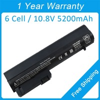 New 6 Cell Laptop Battery For Hp EliteBook 2530p 2540p 2533t Mobile Thin Client HSTNN XB23