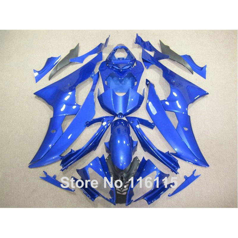 Injection molding bodywork fairings set for YAMAHA R6 2008 -2014 blue black full fairing kit YZF R6 08 09 - 14 ZB83 injection molding bodywork fairings set for yamaha r6 2008 2014 blue white black full fairing kit yzf r6 08 09 14 zb77