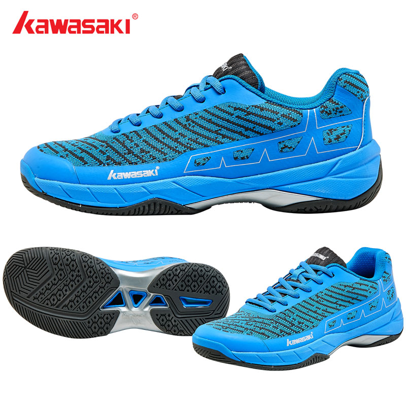 2019 Original Kawasaki Badminton Shoes Men And Women Zapatillas Deportivas Anti-Slippery Breathable Sneakers Tennis shoes K-353