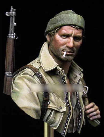 1/10 Resin Bust US Army Paratrooper Figures Not Assembled Uncolored1/10 Resin Bust US Army Paratrooper Figures Not Assembled Uncolored