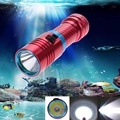 MINI LED Diving flashlight Underwater 100M Waterproof CREE XM-L2 LED 2500LM Promise dimming Scuba Diving Flashlight Torch