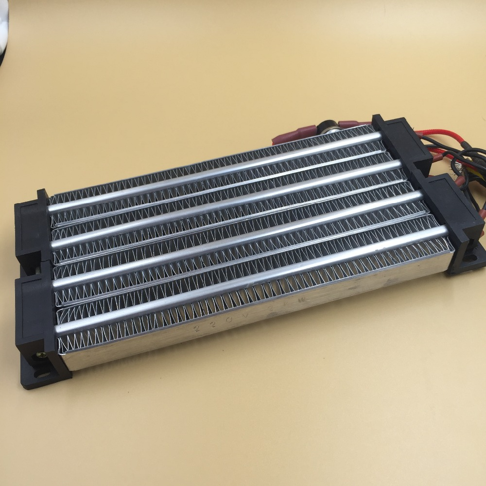 Electric heater PTC ceramic air heater 2000W 220V AC/DC Insulated 230*102*26mm 100w 220v ac dc insulated ptc ceramic air heater ptc heating element electric heater 113 35 26mm