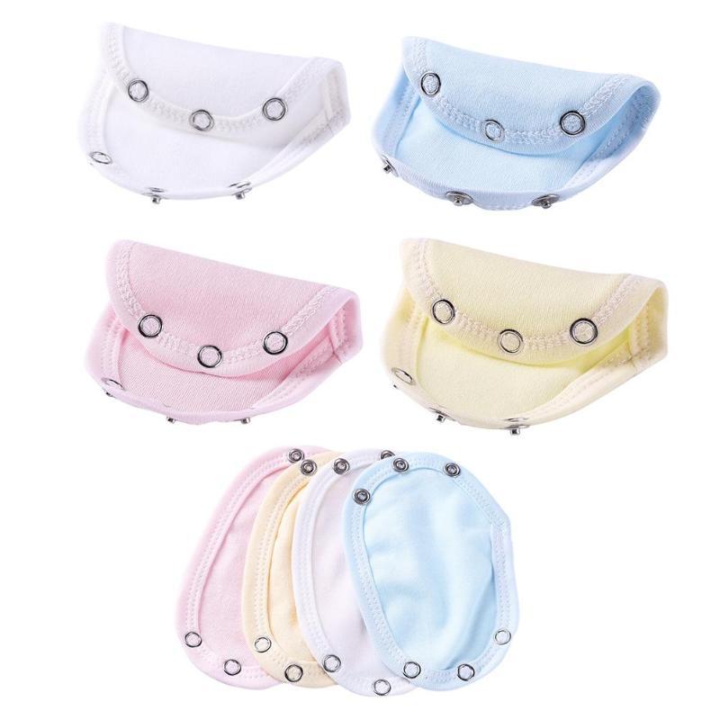Cute Baby Romper Extend Pad Kids Jumpsuit Lengthen Diaper Mat Reusable Cotton Nappies Breathable Optional  Lengthen Diaper