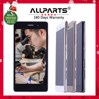ALLPARTS Original 5 0 Black Gold Display For HUAWEI Ascend P8 Lite LCD Touch Screen Digitizer
