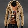 Big yards of England jacket yards men long-sleeved jacket zipper