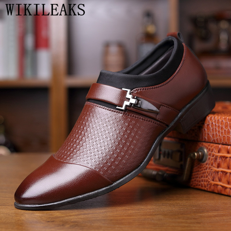 Mens Hollow Dress Business Shoes Pointy Toe Casual Wedding Slip On Sandal Loafer