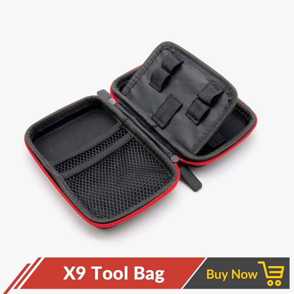 Volcanee X9 Vape Bag Carrying Bag Case For Electronic Cigarette RTA RBA RDA Mod Kit DIY Tool Vapor Bag