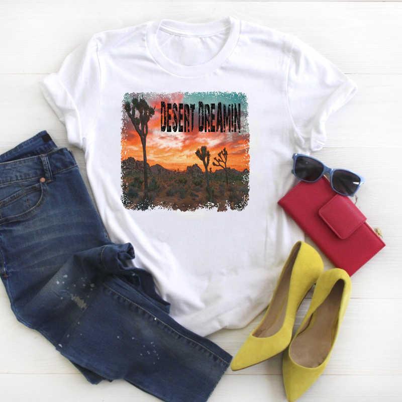 Mulheres Camisa de Verão Se Perder Bonito Pintura Fashion Graphic Impresso Kawaii Das Senhoras Roupa Das Mulheres T-shirt Tee Top Camiseta Feminina