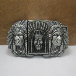 New style native american indian chief lighter belt buckle 105 61mm 173 3g silver metal for.jpg 250x250