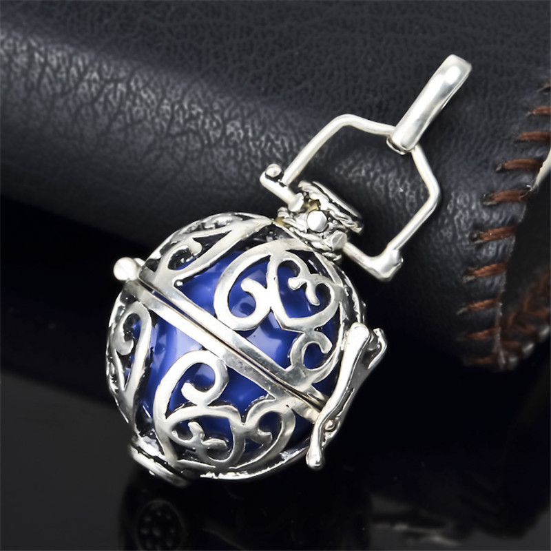 H9 Wholesale 20*18mm Fashion Jewelry Harmony Ball Pendant Nice Sound Mexican Bola Pendant Pregnancy Gifts For Women and Baby