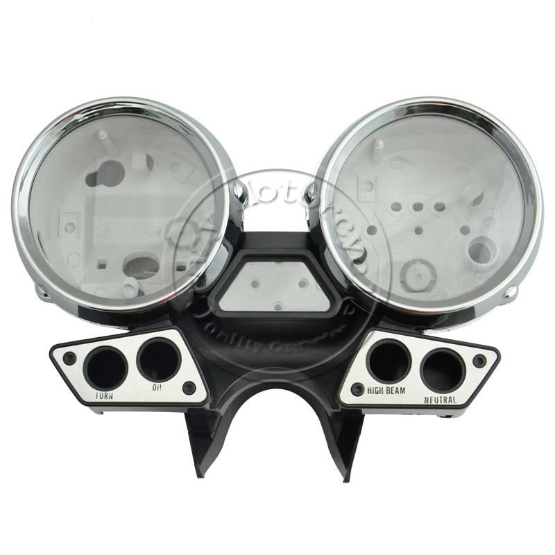 цена на Motorcycle Plastic Speedometer Tachometer Instruments Case Cover Accessory For YAMAHA XJR400 XJR 400 1993 1994 93 94