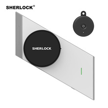 Sherlock Wireless Door Lock Keyless Smart Lock Fingerprint + Password Integrated Electronic Lock Bluetooth Control With 1Pc Key