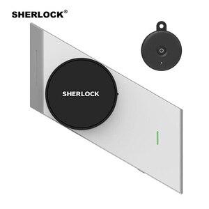 Image 1 - Sherlock Wireless Door Lock Keyless Smart Lock Fingerprint + Password Integrated Electronic Lock Bluetooth Control With 1Pc Key