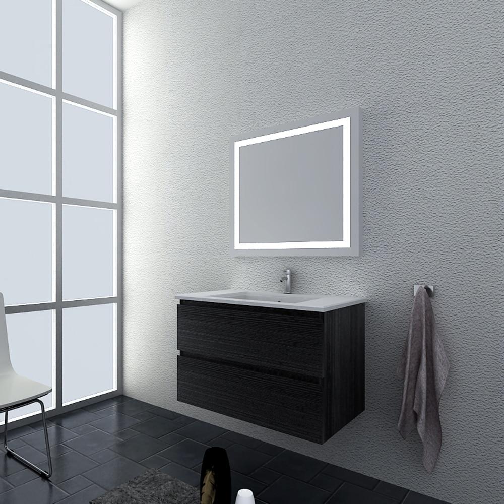 Linkok Furniture Knock Down Cheap Bathroom Vanity Cheap Wooden Vanity Cabinet