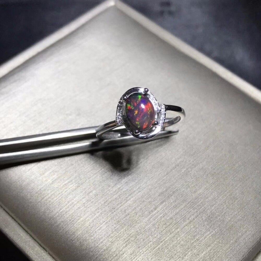 US สต็อก Uloveido Fire Opal แหวน,925 เงินสเตอร์ลิง, 6*8 มม.ได้รับการรับรองรูปไข่พลอยครบรอบปาร์ตี้แหวนผู้หญิง FJ206-ใน ห่วง จาก อัญมณีและเครื่องประดับ บน   3