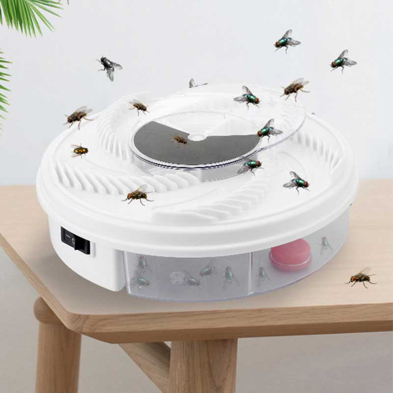 Electric Effective Fly Trap Pest Device Insect Catcher Automatic Flycatcher Fly Trap Catching Artifacts Insect Trap Usb Plug