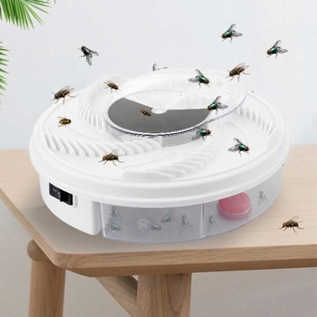 Automatic Flycatcher Fly Trap Catching Artifacts Insect Trap