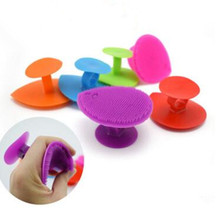 Soft silicone clean pores health beauty massage brush blackh