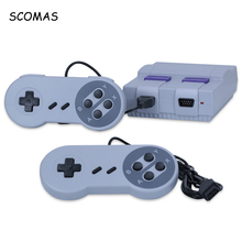 SCOMAS 8 Bits Portable Mini Games Console Built-in 400 Family Retro TV Gaming Consoles for Game Player Video Consolas