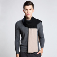 Fashion Winter Men Scarf Long Man's Wool Scarf Plaid Scarves For Man Autumn Casual Cashmere Scarf
