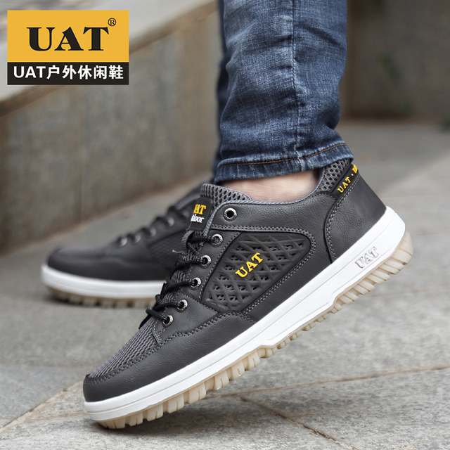 New arrival summer 2017 UAT original brand walking shoes man outdoor sport Skateboarding Shoes anti-slippery athletic shoes men