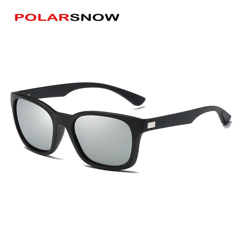 POLARSNOW Fashion Sunglasses For Men Women Polarized Lens Unisex UV400 Driving Sun Glasses P0921