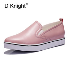 2019 Summer Autumn Soft Leather Loafers Women Casual Shoes Fashion Slip On Flat Shoes Comfortable Woman Sneakers Sports Shoes soft slip on shoes women fashion 2019 sneakers autumn casual shoes canvas shoes women white low flat breathable skateboarding
