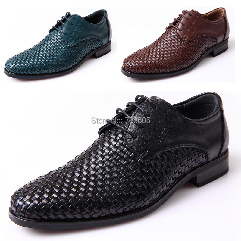 2015 Fashion Braided Genuine Leather Men's Shoes Mens Outdoor Casual Oxford Man Spring&Autumn New Style MS-23 - Fantasy Jewelry 4 Store store