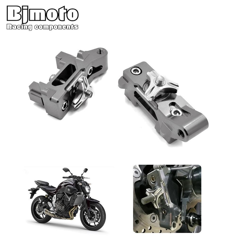 Motocross Dirt Bike New CNC Chain Adjuster Rear Axle Block Kit for Yamaha MT-07 2013-2016 FZ-07 2015-2016