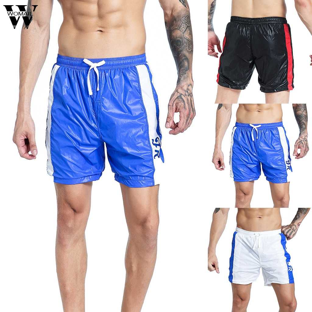 Womail Shorts Mannen Zomer Mode Toevallige Sport Shorts Dunne Sneldrogende Air-Ademend Fit Sport Shorts Losse Gift nieuwe 2019 A23