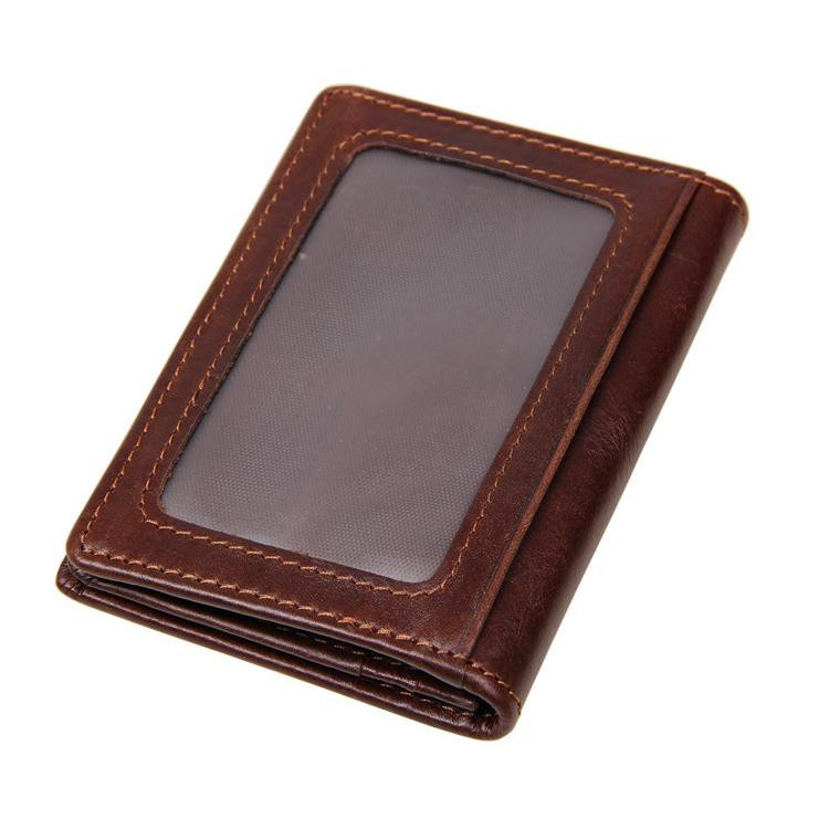 Genuine Leather Credit Card Holder Men ID Card Case Bank Credit Card Wallet Driver License Holder Wallet for carteira masculina osprey рюкзак xena 85 m ruby red
