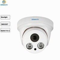 STARVIS Starlight 1080P Sony IMX307 CMOS AHD/CVI/TVI/CVBS Output OSD Free Switch Night Vision CCTV Security Camera AR MHD2208RL