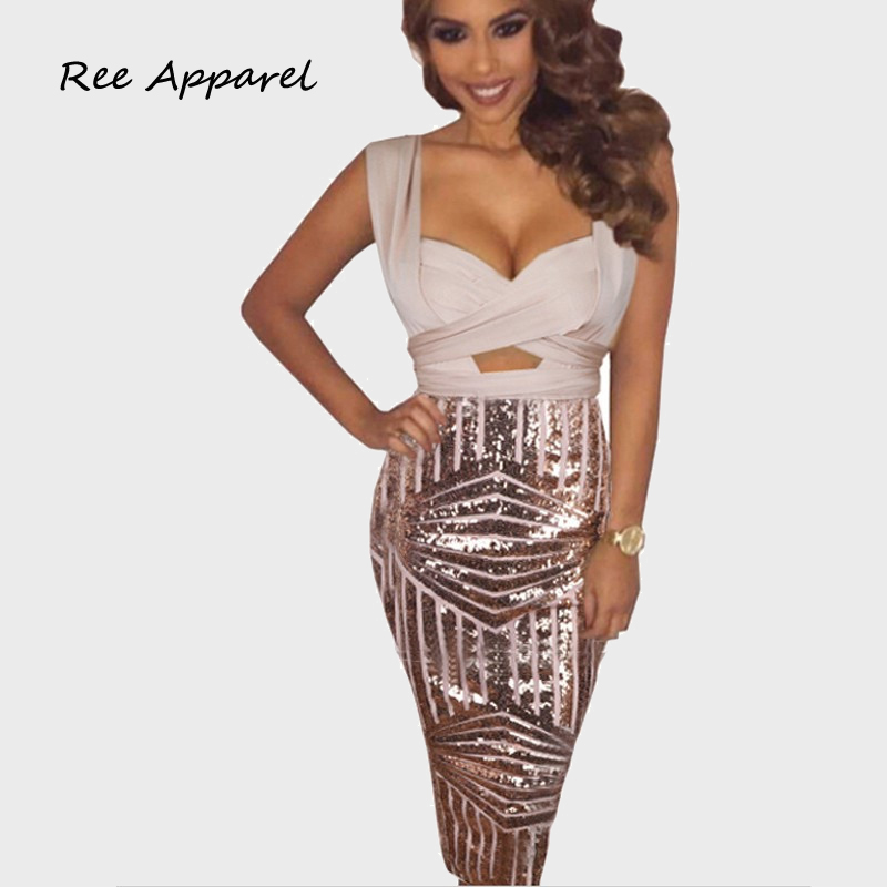 Popular Gold Sequined Dress-Buy Cheap Gold Sequined Dress lots ...