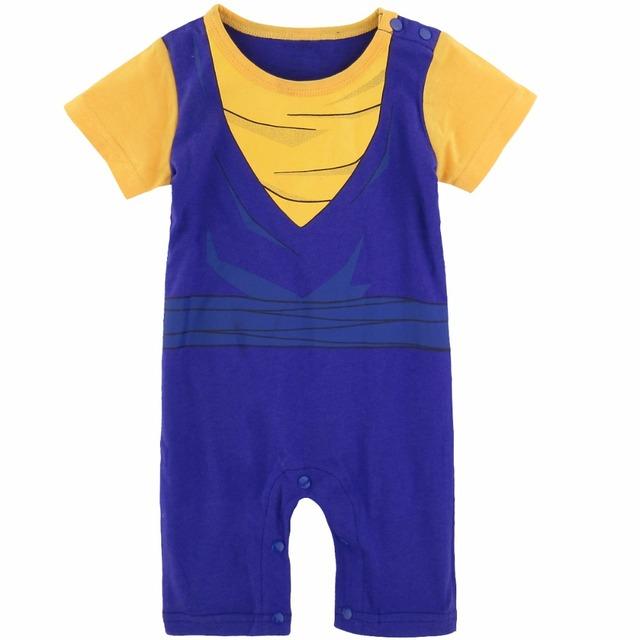 Bébé Garçon Piccolo Costume Barboteuse Mignon Vegetto Cosplay Infantile Combinaison
