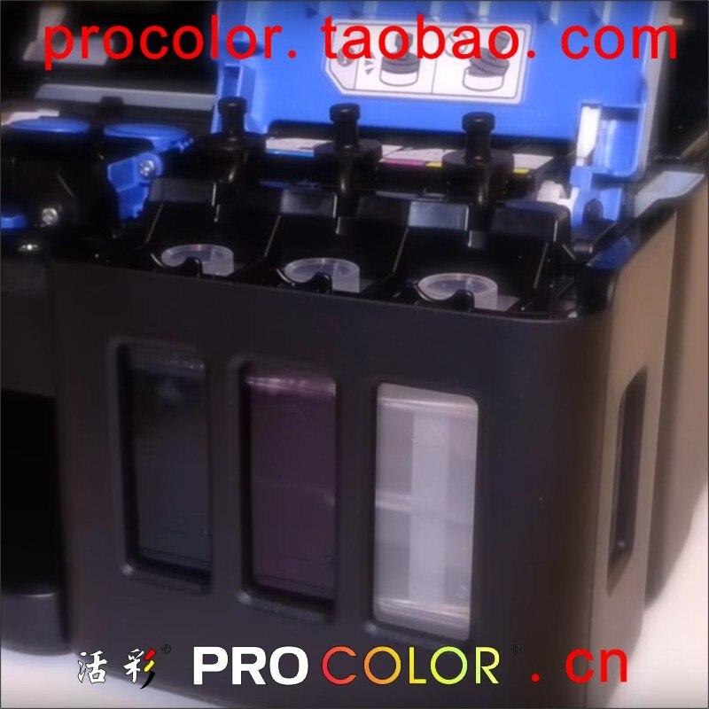 GI-590BK Pigmentinkt GI-590C M GI-590Y is kleurstofinktnavulatiekit - Office-elektronica