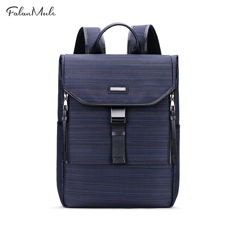 FALAN MULE Brand Backpack Nylon School Backpack Blue Fashion Backpack Male Escolar Mochila Quality Brand Waterproof Laptop Bag