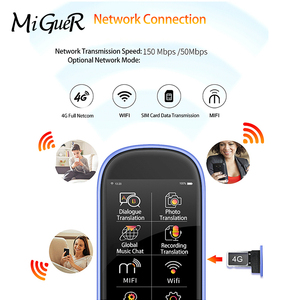"Image 5 - Boeleo W1 Pro ses fotoğraf AI çevirmen 4G WIFI 8GB bellek 3.0 ""LCD/IPS 1780mAh 76 dil çevrimdışı seyahat İş çeviri"
