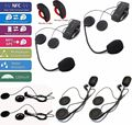 Free Shipping!2 Set/Lot COLO-RC Motorcycle Bluetooth 1000m Intercom+Remote Control+Free 2 Earpiece