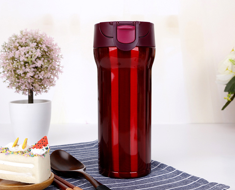 Hot Thermos Stainless Steel Vacuum Flasks Thermoses Thermo Mug,350ML Coffee Cup,Personal travel insulation coffee car cup