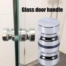 """Дверная ручка из алюминиевого сплава 1,"""" Dia, одностворчатая дверная ручка для ванной комнаты, душевой шкаф, ручка с винтом, домашнее оборудование"""