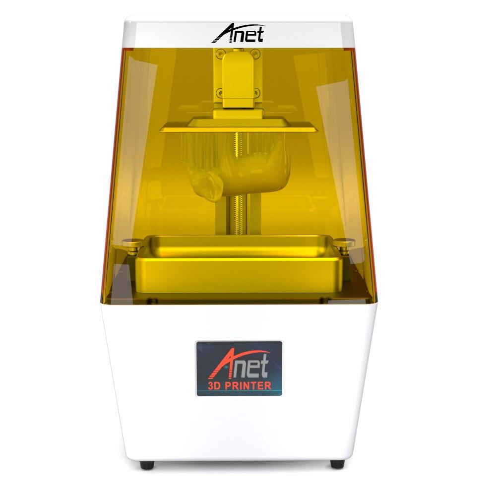 Anet N4 lampe à polymériser LED résine SLA 3D imprimante LCD Assemb LED 2K écran hors ligne impression 3D Drucker imprimantes 3d résine UV