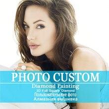 Фото на заказ! Женские туфли-лодочки! 5D DIY алмазная живопись! Сделай свой собственный алмаз живопись полный квадратный бриллиантовый горный хрусталь вышивка