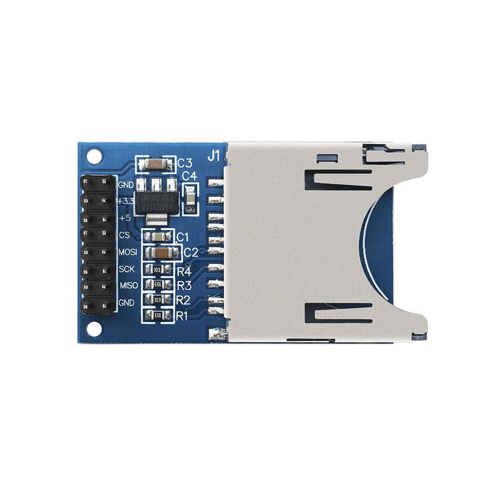1PC SD CARD SLOT SOCKET READER  MODULE  FOR  ARDUINO ARM MCU 1 PC MEMORY CARD